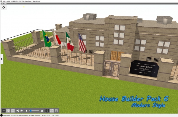 House Builder Assets Pack 6 for Smile Game Builder Released
