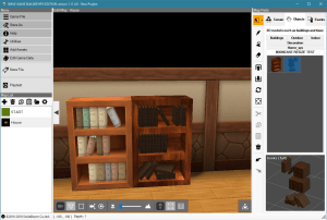 Bookshelf and Modular Books Models | Smile Game Builder