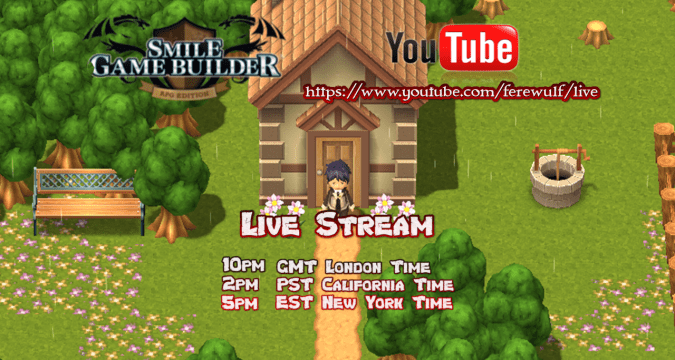 SMILE GAME BUILDER Live-Stream
