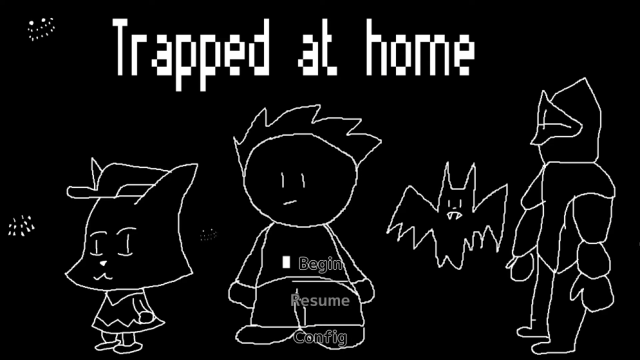 Trapped At Home | Patchwork | SGB Summer 2021 Game Jam