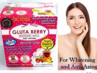 Gluta Berry Fast Action 200000mg
