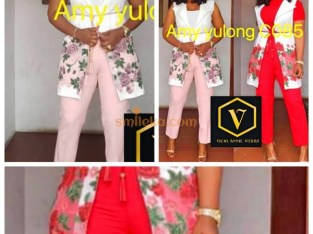 kimono Jacket and trouser for Ladies (Includes Nationwide Delivery)