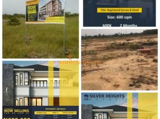 GET YOUR OWN PLOT NOW @Silver Heights Estate Lekki & Become a Landlord