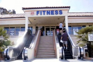 Escalator to fitness