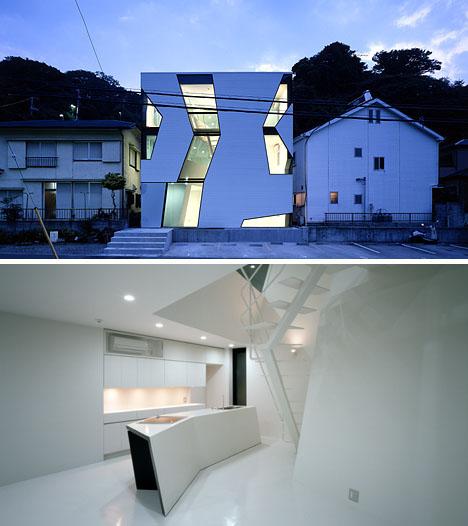 Ultramodern Glass Cube Home