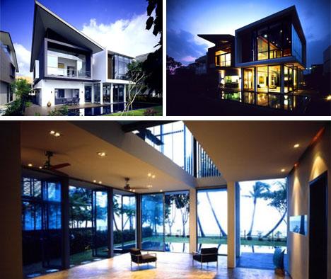 Ultramodern Tiny Lot Home