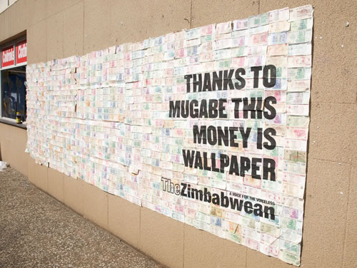 Zimbabwean Dollar: World's First Trillion Dollar Ad Campaign