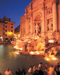 Behold -- the Trevi Fountain.