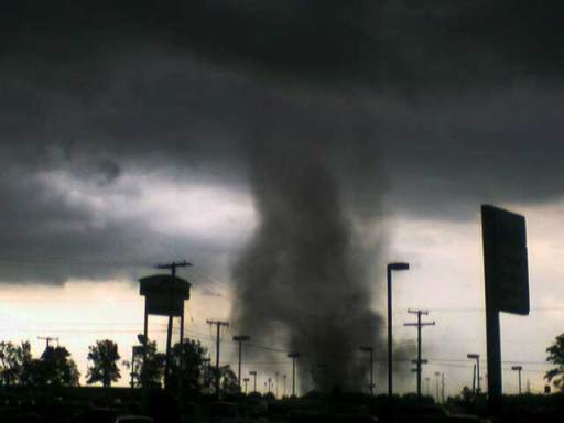 148 tornadoes occurred.