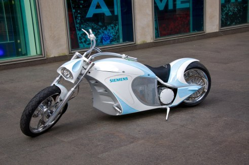Siemens Unveils the First Custom 'Green' Electric Chopper