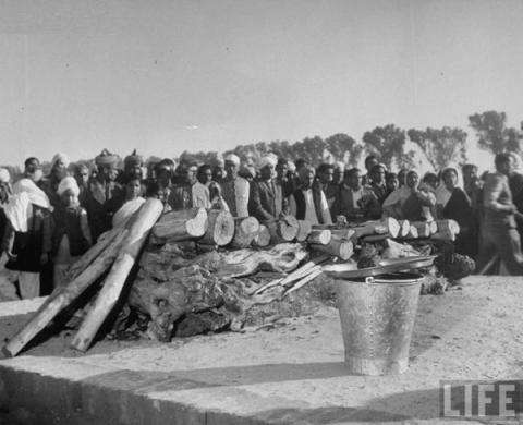 Mahatma Gandhi's Funeral