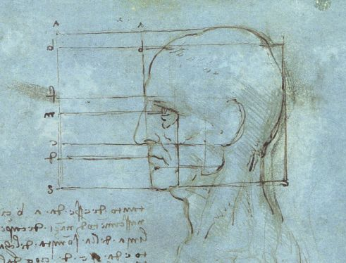 Proportions of the Head, c. 1488-9