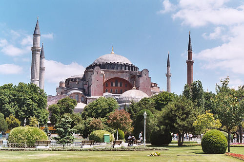 Hagia Sophia (Image Credit: Sloppy Stephen (Flickr))
