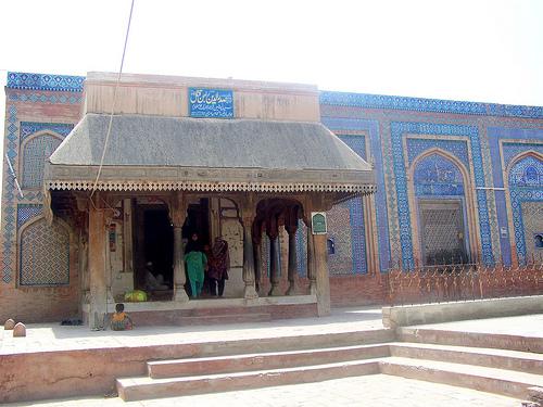 Hazrat Makhdoom Syed Rajan Qattal Bukhari at Uch Sharif, Cholistan