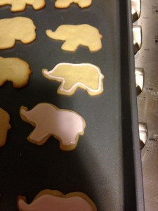 Lil Elephant Sugar Cookies - 10