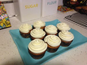 Carrot Cake Cupcakes - 13
