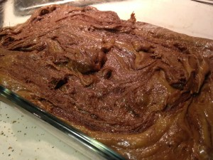 Chocolate Swirl Blondies - 7