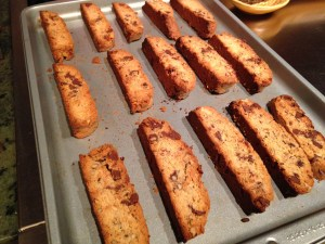 Chocolate Chip Coconut Biscotti - 17