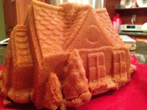 Gingerbread House Bundt Cake - 15