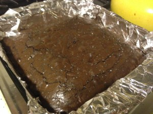 Sea Salt Brownies - 13