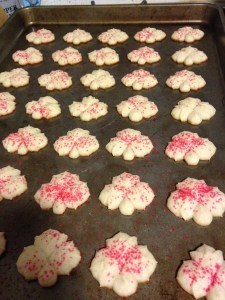 Cream Cheese Spritz Cookies - 9