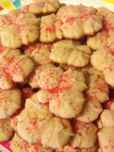 Cream Cheese Spritz Cookies - 10
