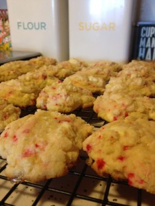 White Chocolate Peppermint Cookies - 13
