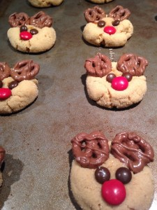 Peanut Butter Reindeer Cookies - 7