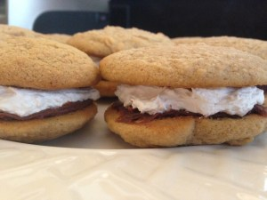 s'mores whoopie pies - 24