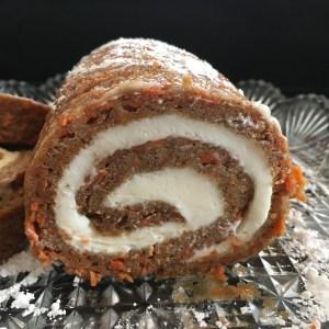 Carrot Cake Roll - 25