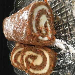 Carrot Cake Roll - 26
