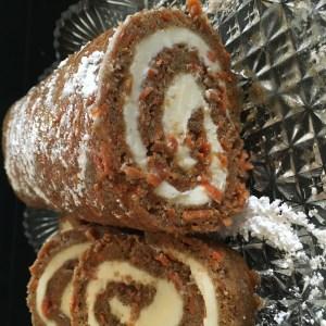 Carrot Cake Roll - 27