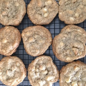 White Chocolate Macadamia Cookies - 17