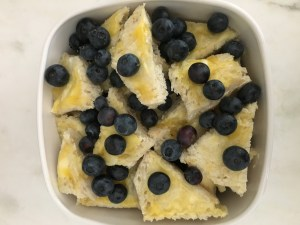 Lemon Blueberry Bread Pudding - 3