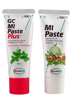 MI Paste Plus can help whiten teeth with brown or white spots by remineralizing them.