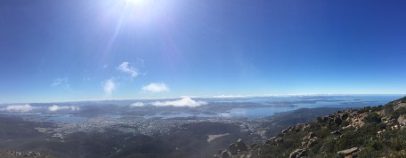Summit of Mount Wellington