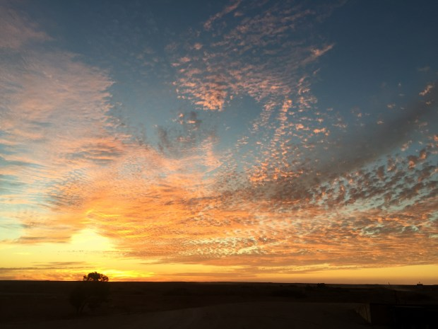 Sunset in Marree
