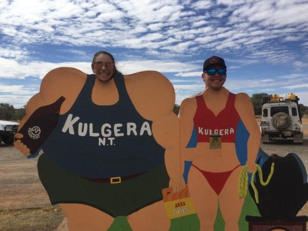 Kulgera Pub in Outback Australia