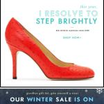 I Resolve to Step Brightly Kate Spade email