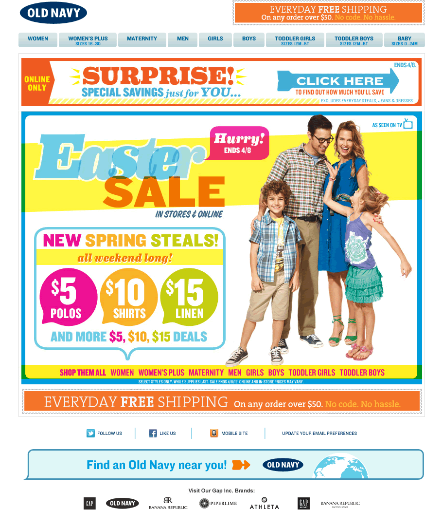 old-navy-email-easter-sale – Smiley Cat