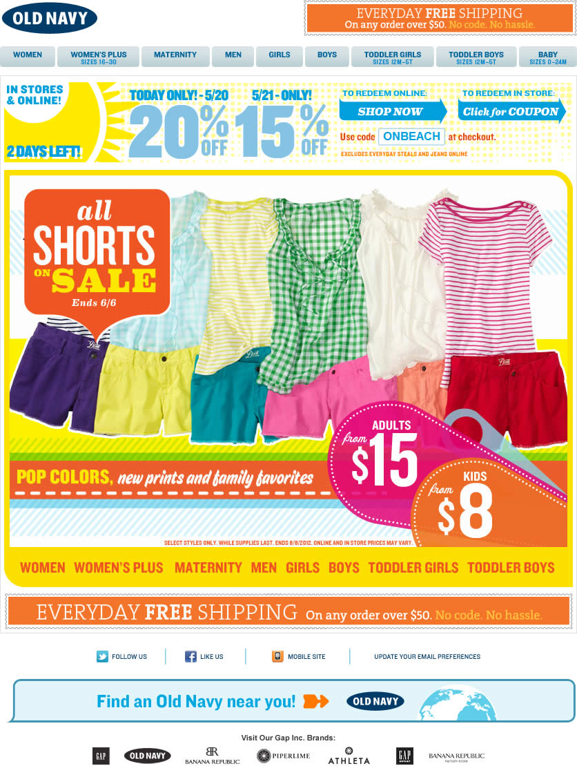 old-navy-email-shorts-on-sale – Smiley Cat