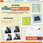 Old Navy email design: Studio Spotlight