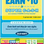 Old Navy email design: Super Cash