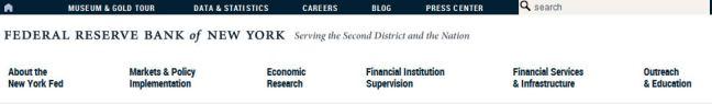 New York federal reserve bank website navigation