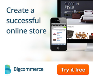 BigCommerce banner ad design example