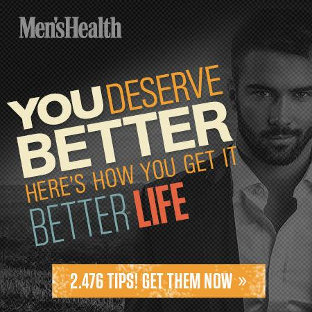 Men's Health banner ad design