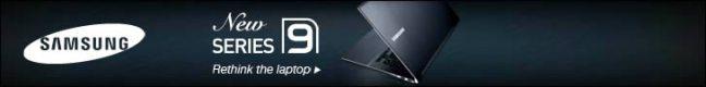 Samsung banner ad design example