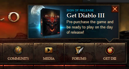 Blizzard web tooltip design example