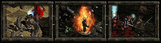Diablo 2 image border design example