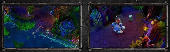 League of Legends image border design example